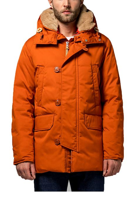 Parka Holubar boulder LI77 orange for men HOLUBAR | Jackets | M18666