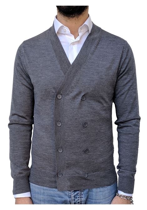 Men's wool double-breasted Hosio cardigan HOSIO | Cardigans | 19100M1014
