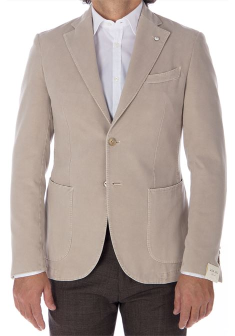 Blazer L.B.M. 1911 beige man L.B.M. 1911 by Lubiam   Suit Jackets   95136/1 28571