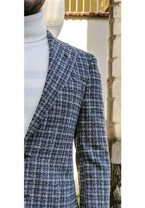 Lubiam blazer men blue wool square LUBIAM | Blazers | 92045/2 21402