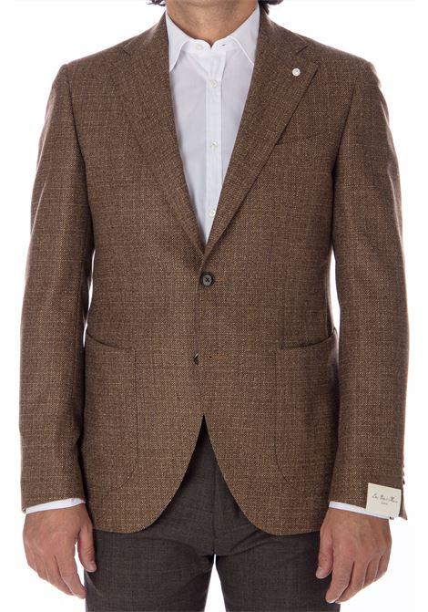Blazer Luigi Bianchi Mantova wool man Luigi Bianchi Mantova by Lubiam   Suit Jackets   92022/1 23221