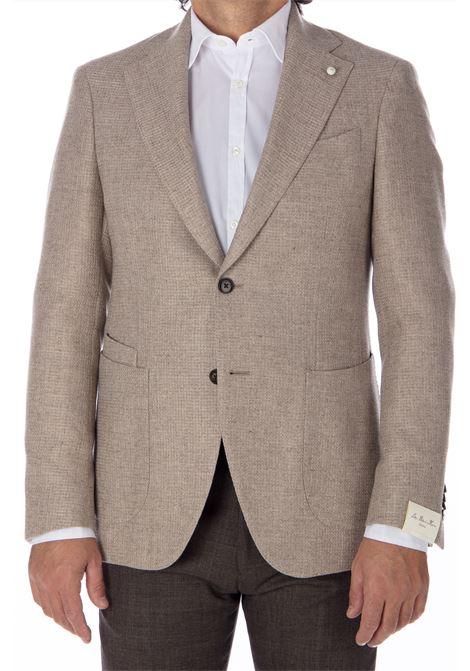 Blazer Luigi Bianchi Mantova man rope Luigi Bianchi Mantova by Lubiam   Suit Jackets   92030/1 24111