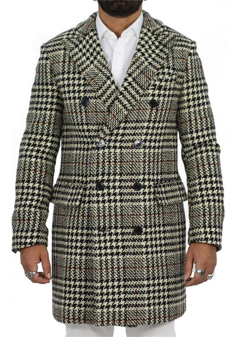 Officina 36 double-breasted coat laval for men OFFICINA 36 | Coats | 04007072061
