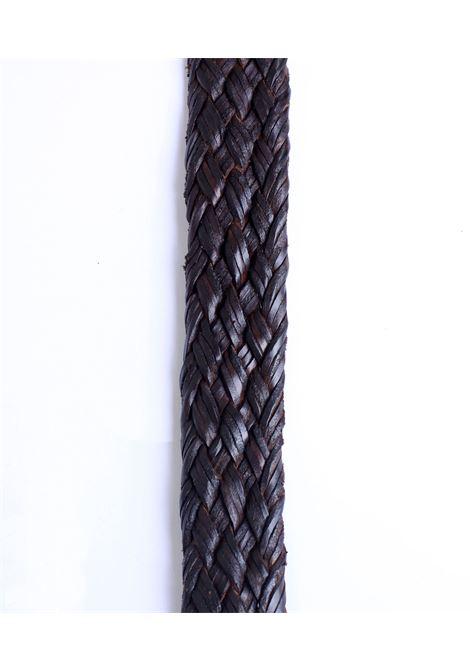 Cintura Orciani uomo intrecciata marrone ORCIANI   Cinture   U077382