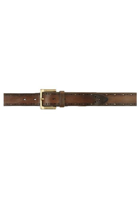 Cintura Orciani in cuoio moro da uomo ORCIANI | U078551