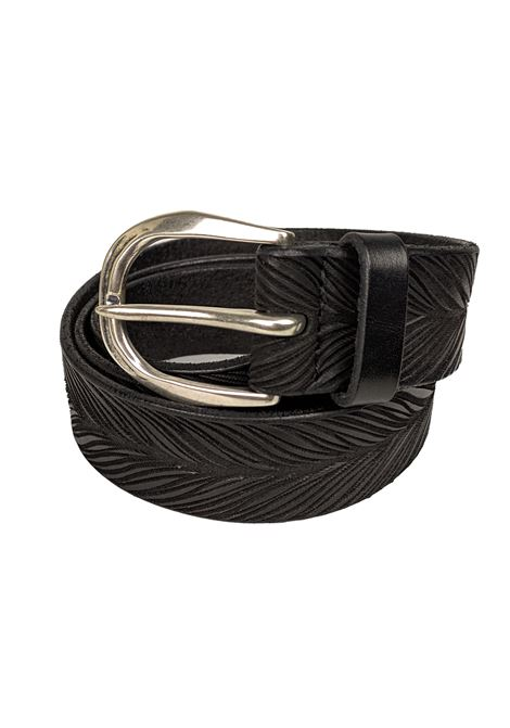 Orciani belts men stain black ORCIANI | Belts | U078611