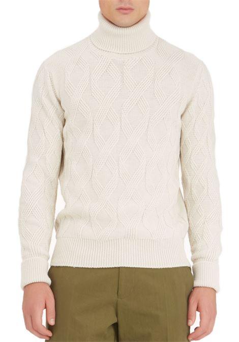 Paolo Pecora white men's turtleneck PAOLO PECORA | Sweaters | A064-70121342