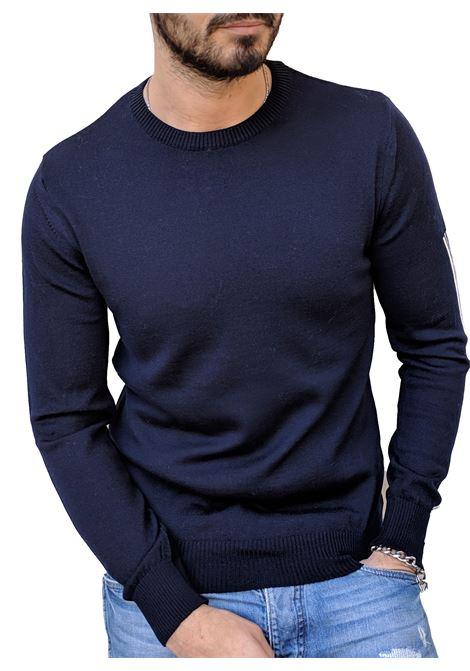 Pmds sweater men nissho blue Premium Mood Denim Superior | Sweaters | NISSHO1