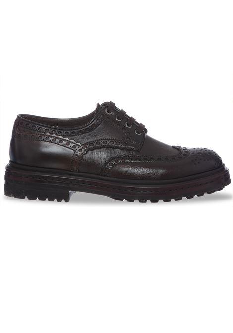 Santoni Shoes Oxford brown man SANTONI | Shoes | 16231S55
