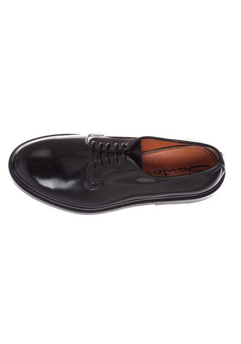 Shoes Santoni derby black for men SANTONI | Shoes | 16317N01