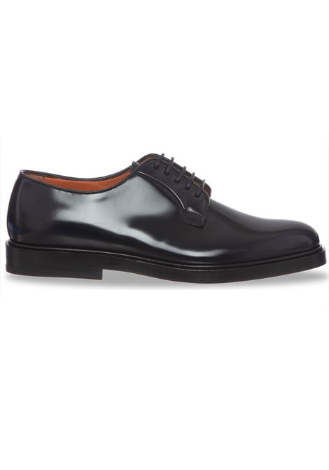 Santoni derby blue men's shoes SANTONI | Shoes | 16317U50