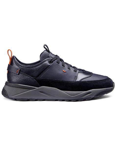 100% authentic 0061c ba096 Scarpe sneakers Santoni leather for men - SANTONI - Vectory uomo