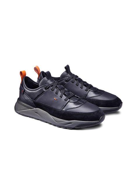 100% authentic 89dee fb959 Scarpe sneakers Santoni leather for men - SANTONI - Vectory uomo