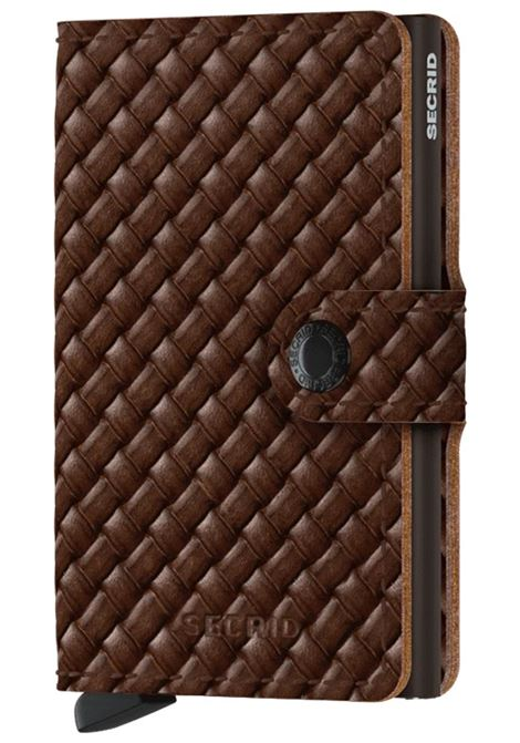 Secrid miniwallet basket brown SECRID | Portafogli | BASKET1