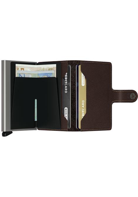 Portafogli Secrid Miniwallet Original marrone SECRID | Portafogli | ORIGINAL4