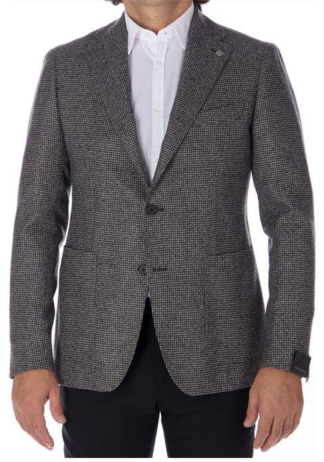 Tagliatore blazer men pied de poule TAGLIATORE   Suit Jackets   12UIG236S209