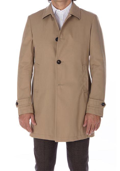 trench Tagliatore coat beige men TAGLIATORE | Coats | 88UIR023T1113