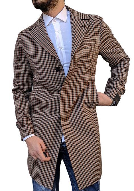 Tagliatore coat Thomas men squares TAGLIATORE | Coats | K317315QIC1421