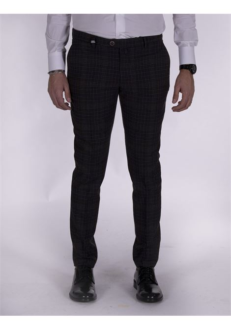Barbati wool checked trousers BARBATI | Trousers | 06521