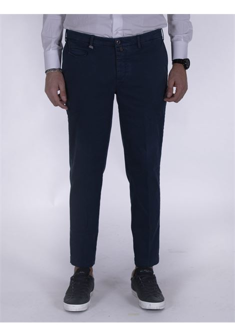 Barbati low crotch blue trousers  BARBATI | Trousers | 232 DELL121