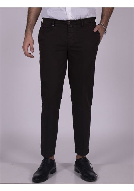 Pantalone Barbati marrone low crotch BARBATI | Pantaloni | 232 DELL1460