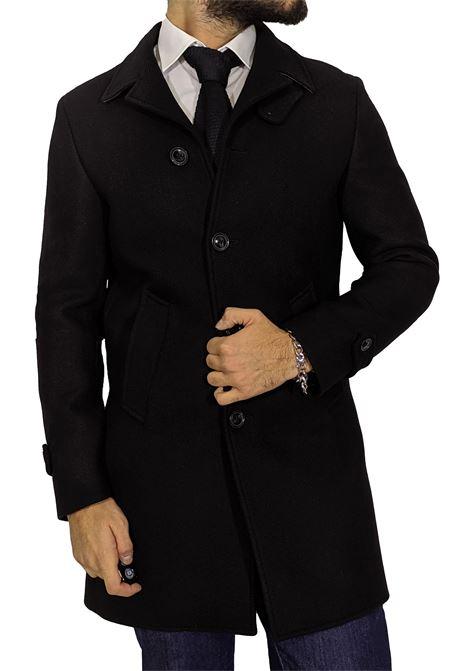 Cappotto Barbati Bryan nero BARBATI | Cappotti | 862 BRYAN01