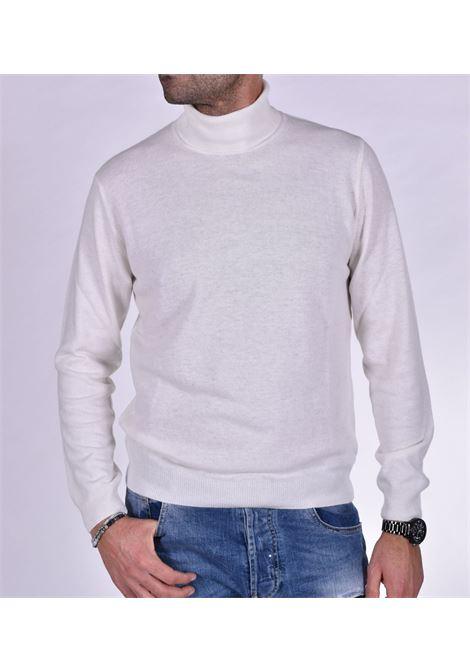 Barbati turtleneck man white BARBATI | Sweaters | B07301