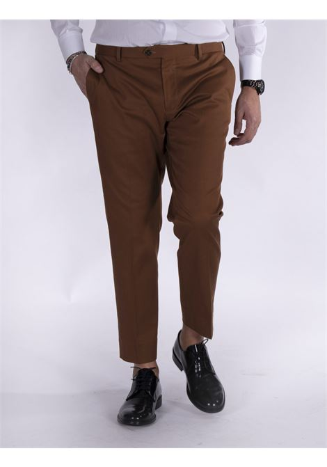 Be Able Alexander tobacco shorter trousers BE ABLE | Trousers | MMSD2