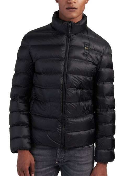 Black blauer korean collar down jacket BLAUER | Jackets | 3092 004938999