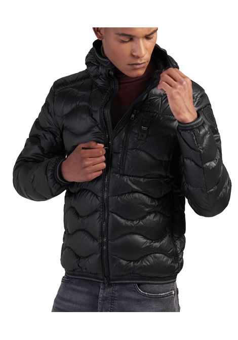 Black wavy blauer jacket roy BLAUER | Jackets | 3099 004719999