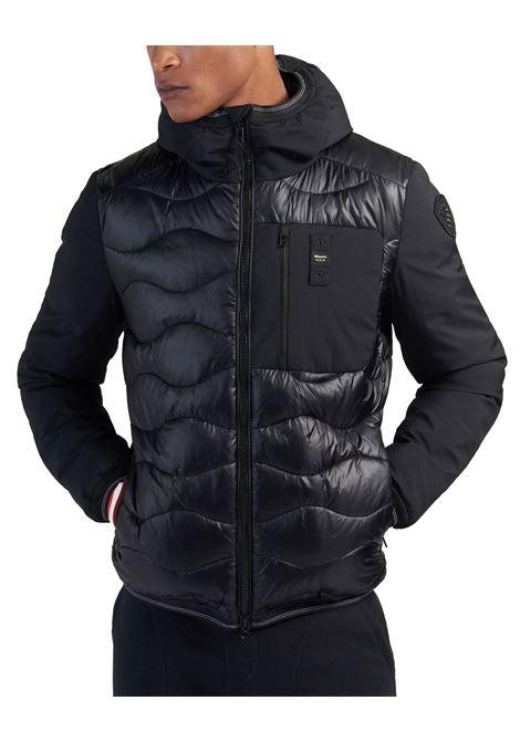 Blauer double fabric black jacket BLAUER | Jackets | 8105 005480999