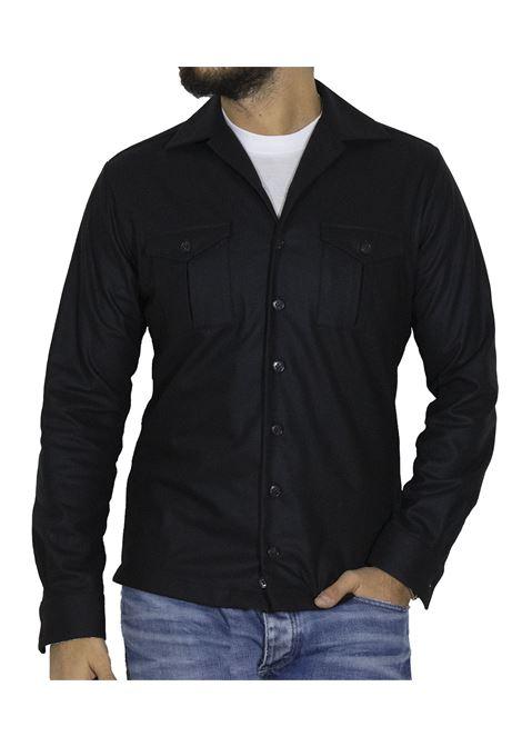 Shirt Brian Dales black wool BRIAN DALES | Shirts | JK4450 BS421004