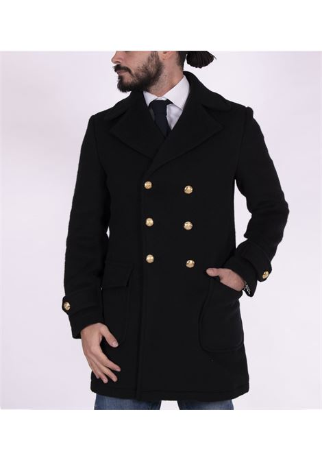 Brian Dales double-breasted coat with gold buttons BRIAN DALES | Coats | JK4471 G74604