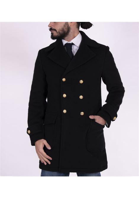 Cappotto Brian Dales doppiopetto bottoni oro BRIAN DALES | Cappotti | JK4471 G74604