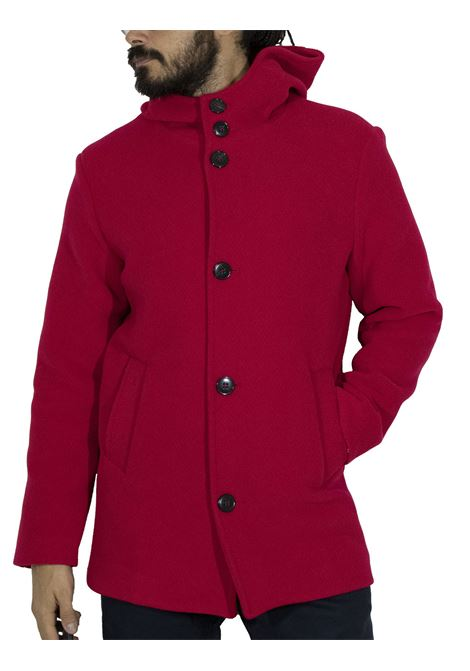 Brian Dales long red jacket BRIAN DALES | Coats | JK4472 G747001
