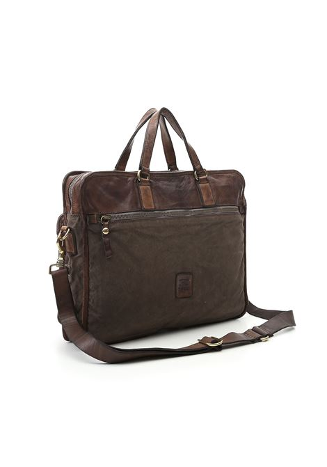 Campomaggi military green pocket briefcase CAMPOMAGGI | Bags | C022440ND/X0011F2501
