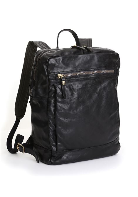 backpack campomaggi vacc black leather CAMPOMAGGI | Bags | C023620ND/X0001C0001