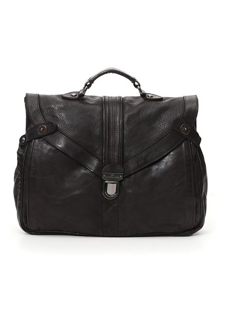 Campomaggi Alessandro black work bag CAMPOMAGGI | Bags | C024180ND1
