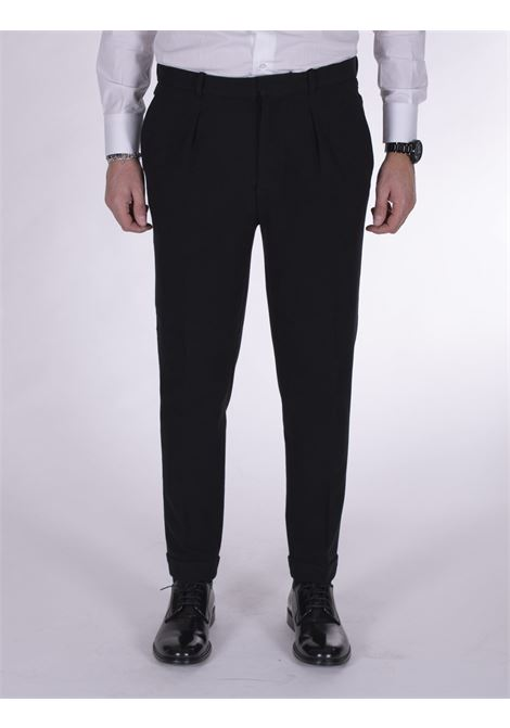 Circolo 1901 pleated black trousers CIRCOLO 1901 | Trousers | CN27311