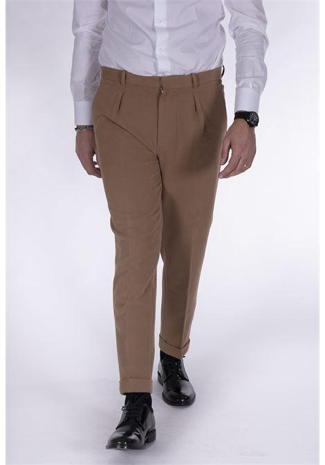 Circolo 1901 pleated beige fleece trousers CIRCOLO 1901 | Trousers | CN27312