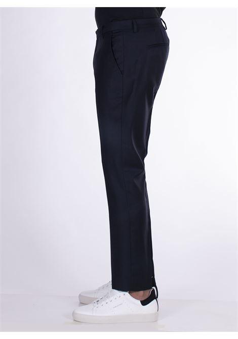 Pantalone entre amis cinturino blu notte ENTRE AMIS | Pantaloni | A218345/20004001