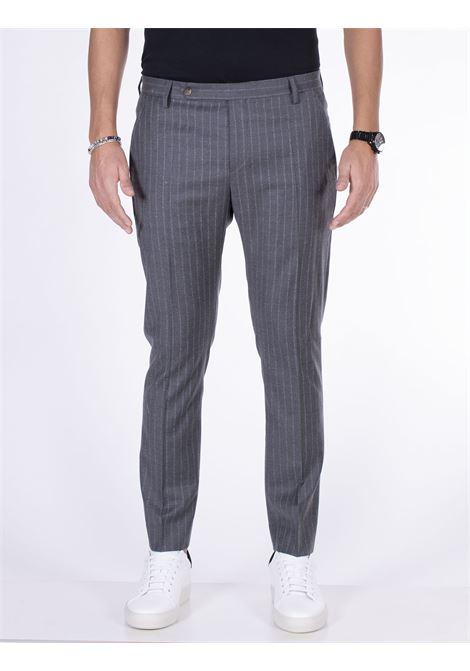 Pantalone entre amis gessato grigio ENTRE AMIS | Pantaloni | A218345/20031