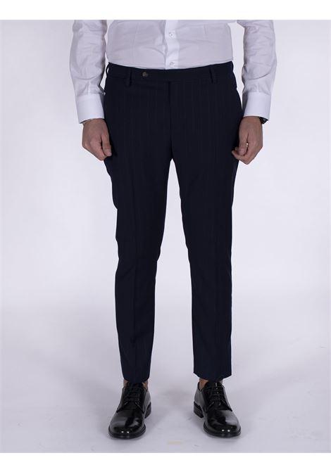 Entre Amis blue pinstripe trousers ENTRE AMIS | Trousers | A218345/20044034