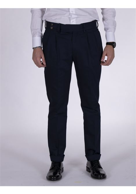 Entre Amis pences trousers with blue strap ENTRE AMIS | Trousers | A218349/17801