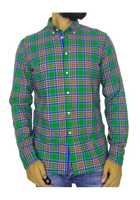 Green checked plaid shirt SP3073 GMF965 | Shirts | 90232302
