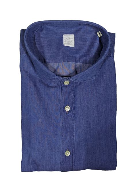 Camicia jeans colletto piccolo GMF965 | Camicie | 90240022