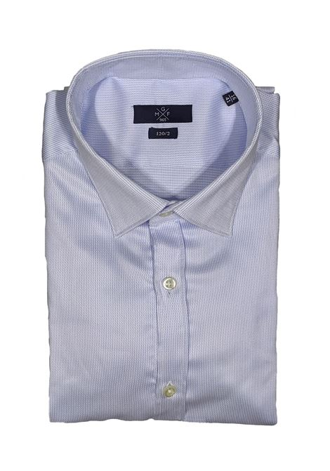 Camicia slim celeste GMF965 | Camicie | 90292201