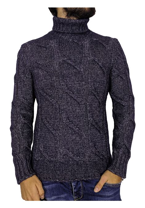 Gran sasso alpaca blue turtleneck GRAN SASSO | Sweaters | 1012119201595
