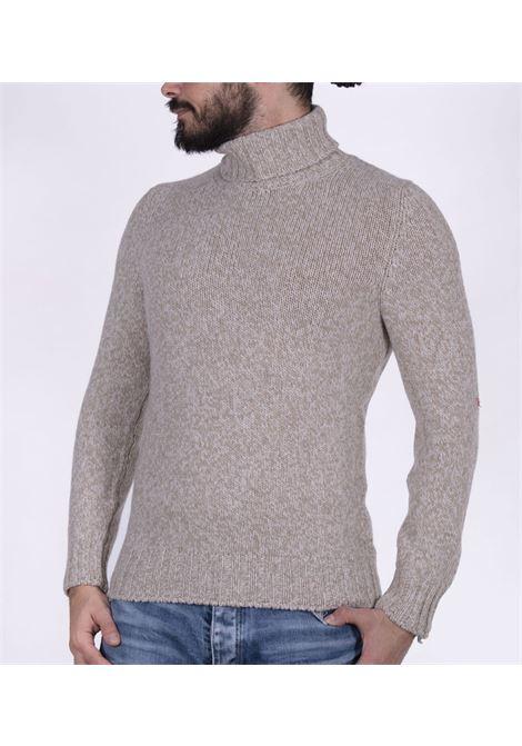 Gran Sasso beige white turtleneck GRAN SASSO | Sweaters | 10182/25700745