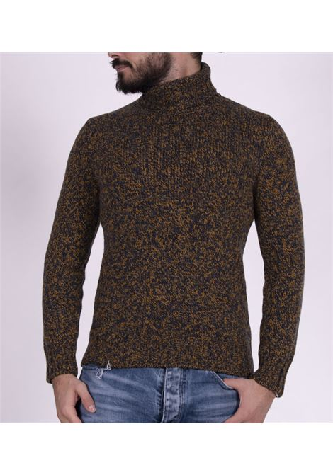 Gran Sasso mustard blue turtleneck GRAN SASSO | Sweaters | 10182741